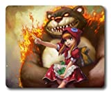 Annie Game LOL League of Legends Mouse Pad/Mouse Mat Rectangle by ieasycenter