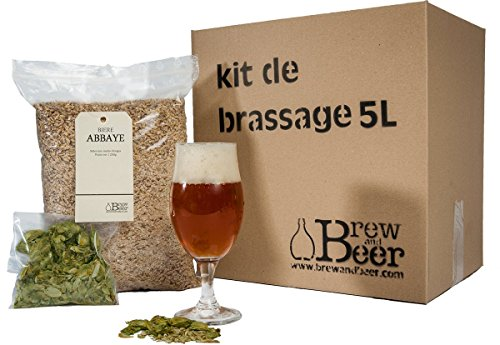 Kit De Brassage Bière Abbaye 5L Brew And Beer