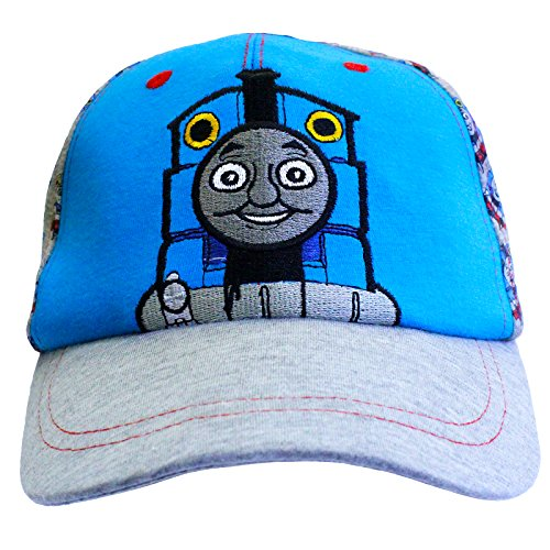 official-licensed-thomas-the-tank-engine-summer-baseball-cap-hat-blue-grey-age-3-4-years