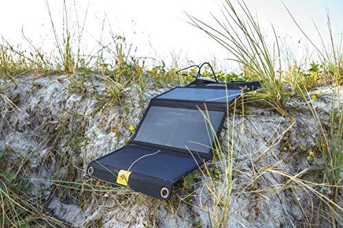 Powertraveller ptl-fls02121W Falcon Faltbares Multi-Spannung Solarpanel Ladegerät