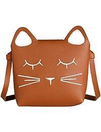 Süße kleine Mädchen Umhängetasche Handtasche, Prinzessin Mini Taschen, Katze Cross Body Messenger Bag