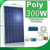 Panel solar 300W 24v Fotovoltaico Polycrystalline