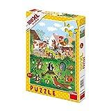 Dinotoys 343313 100 XL Stücke von hochwertigen PuzzleKleines Maulwurf-Motiv