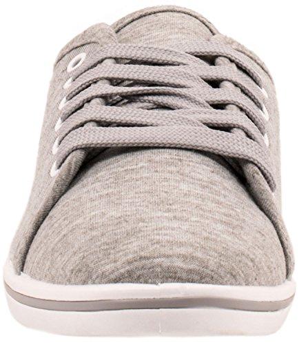 Elara - Pantofole Donna Grau Basic