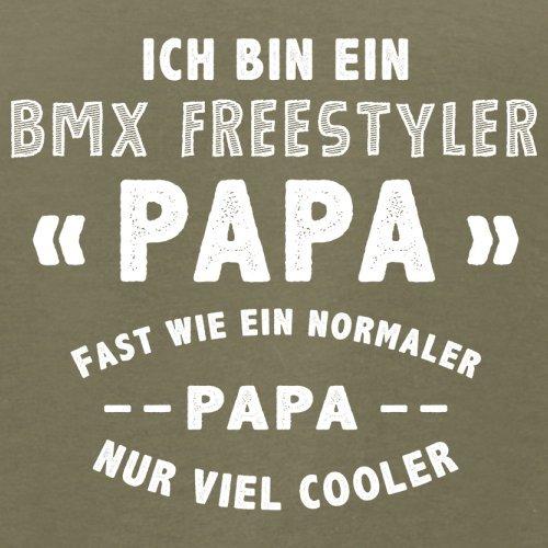 Ich bin ein BMX Freestyler Papa - Herren T-Shirt - 13 Farben Khaki