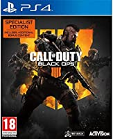 Call of Duty Black Ops 4 - Specialist Edition (PS4) للبلاي ستيشن 4 من اكتيفيجن