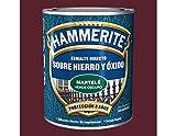 HAMMERITE - Esmalte Martele Marron Hammerite 750 Ml