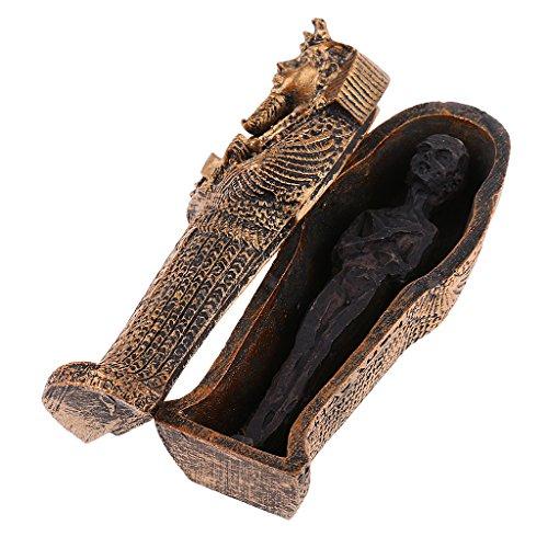 Homyl Ägypten Mumie Gebäude Modell Figur Statue für Haus Büro Deko