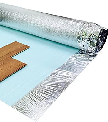 Royale 3mm Silver Laminate Wood Underlay - 30m2 Deal - low-cost UK light shop.