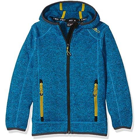 CMP giacca in pile da ragazzo, River-antracite, 152, 3H60844