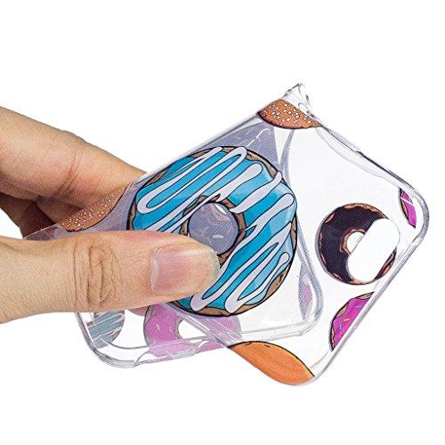 Hülle für Apple iPhone 6S Plus / 6 Plus , IJIA Transparente Niedlich Einhorn TPU Weich Silikon Stoßkasten Cover Handyhülle Schutzhülle Handytasche Schale Case Tasche für Apple iPhone 6S Plus / 6 Plus  WL4
