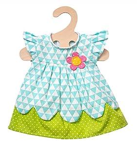 Heless 2855-Vestido para Muñecas, Daisy, tamaño 35-45cm