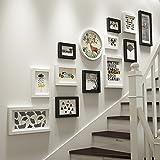 Global 13 Multi Bilderrahmen Set Holz DIY Foto Bild Wandrahmen Moderne Große Wandbehang Bilderrahmen Wand Dekorative Malerei ( Farbe : #B )