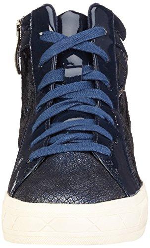 Tamaris 25217, Sneakers Hautes Femme Bleu (Navy Comb 890)