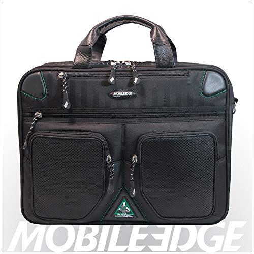 Herren-mobile Edge (Mobile Edge Herren 40,6cm PC/43,2cm Mac Checkpoint & Umweltfreundlich Aktentasche Schwarz)