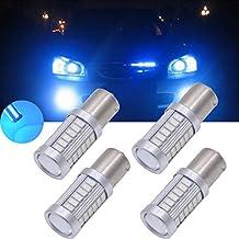 Tuincyn - Lampadine LED 1156BA15S, 563033SMD, bianco 8000K, 900lumen, luminose luci 11417056per freno, luce di stop, parcheggio, frecce, 12VCC 3,6W (confezione da 2)