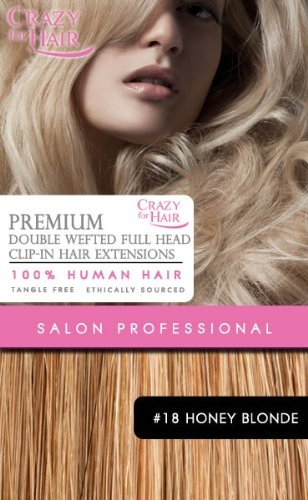 Extensions Cheveux Humains A Clip Remy Double Wefted 22\\