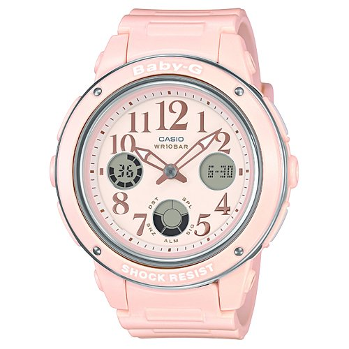 Casio Baby-G Analog-Digital Pink Dial Women's Watch-BGA-150EF-4BDR