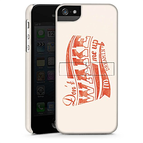 Apple iPhone X Silikon Hülle Case Schutzhülle Traum Dreaming Statement Premium Case StandUp