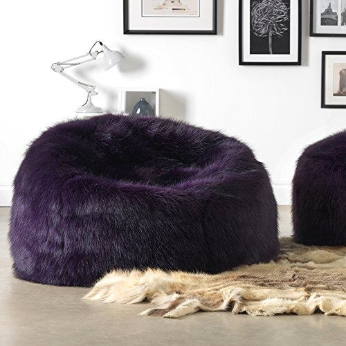 ICON Soho Long Fur Bean Bag - Luxury Faux Fur Bean Bags (Purple) - Buy  Online in UAE.  2a8958c13a250