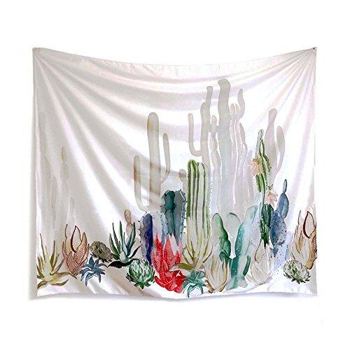 PYHQ Plantas suculentas Cactus Tapices Boho Colgante Hippie manta Verano Arte Mandala...