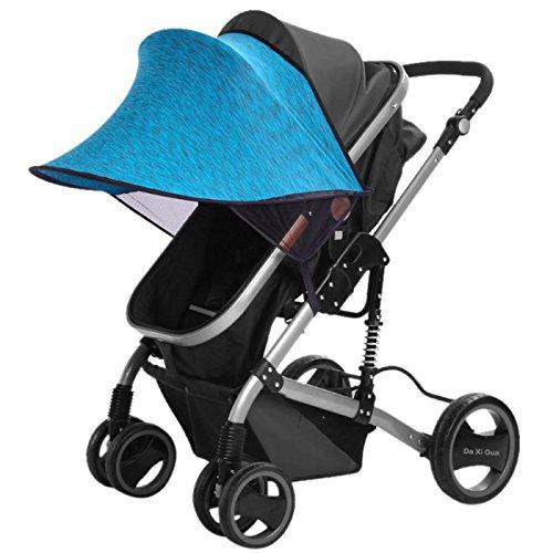 Universal Sonnendach Sonnenschutz für Kinderwagen Buggy /& Sportwagen UV-Schutz