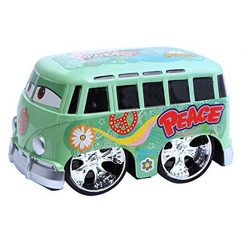 schenk, Zurück Schieben Spielzeug Autos Matchboxautos Spielzeugautos für Kinder - Bunte Coole Modellierung Mini Pull Back Autos (Grün) ()