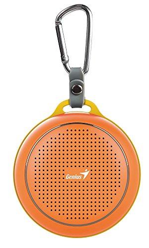 Preisvergleich Produktbild GENIUS SP-906BT Orange Bluetooth Speaker 3W BT 4.1 Freisprecheinrichtung 5h 1x 40mm Treiber 500mAh Lithium Polymer Akku