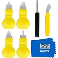 MMOBIEL 7 pièces Outil d'Ouverture de boîtier de Montre Kit de réparation de Montre, ouvre-boîtier arrière Kit pour Le…