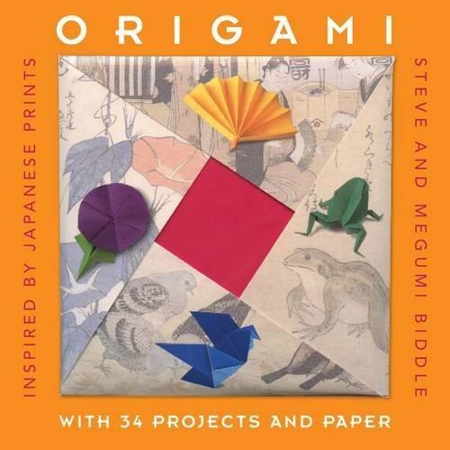 Origami: Inspired by Japanese Prints (Gift Sets) by Steve Biddle (2012-10-01) par Steve Biddle;Megumi Biddle
