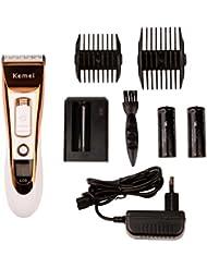 Ckeyin® Cortapelos Profesional Eléctrica con Pantalla LCD Bajo Nivel de Ruido para Hombre y Niño