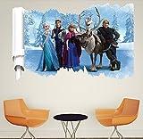 Best Frozen Amigos Juegos de Regalo - Elsa con amigos Frozen The Ice Princess Pegatinas Review