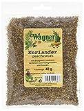 Wagner Gewürze Koriander (Coriander) geschrotet, 5er Pack (5 x 40 g)
