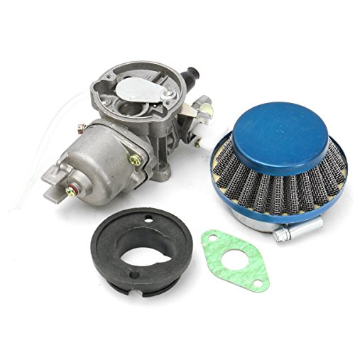 WJUNU Kit ensamblaje filtro aire carburador 47cc 49cc