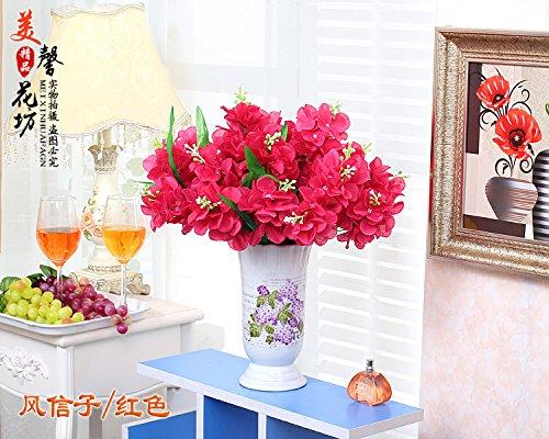 Xin Pang Künstliche Blume Simulation Flower Set Dekoration Blumen Blume Blume Blume Blume Flower Bouquet im Europäischen Stil Tisch Wohnzimmer Ornament Ornament Ornament Blume,