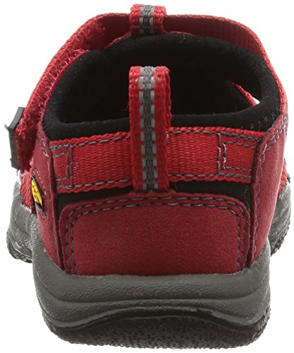 Keen Unisex-Kinder Newport H2 Sandalen Trekking-& Wanderschuhe Rot (Ribbon Red/Gargoyle)