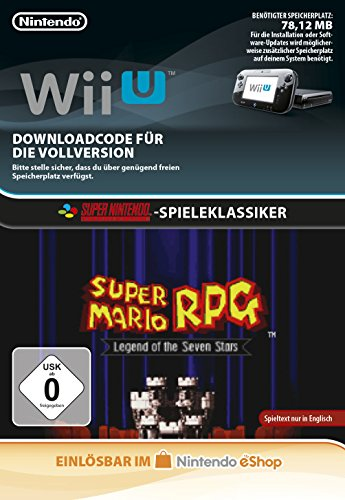 Super Mario RPG: Legend of the Seven Stars [Wii U Download Code]