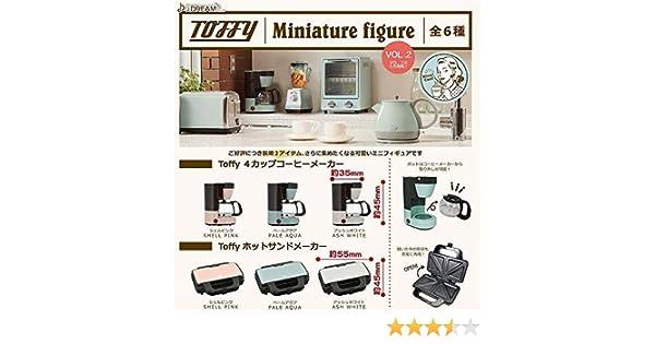 J Dream TOFFY miniature figures VOL.2 Gashapon 6 set mini figure capsule toys