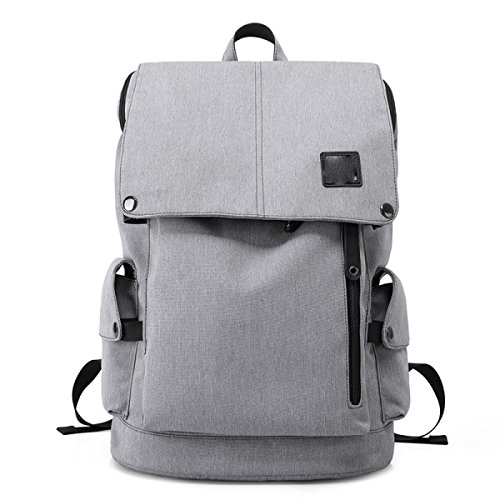 Laptop Business Rucksack Herrenmode Student Pack,Gray Gray