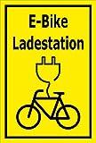 Melis Folienwerkstatt Aufkleber - E-Bike Lade-Station - 15x10cm - S00050-067-C -20 Varianten