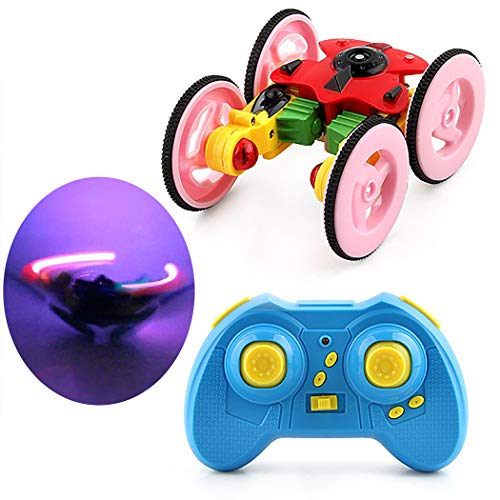 Joyibay RC Auto Spielzeug USB Wiederaufladbare 2,4 GHz Fernbedienung Weg Vom Straßenauto RC Fahrzeug für Kinder