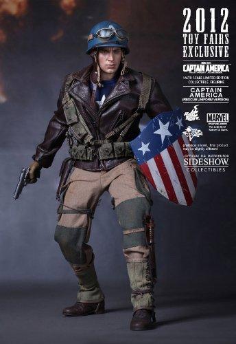 Hot Toys Captain America Rescue Figurine Comic Con 2012