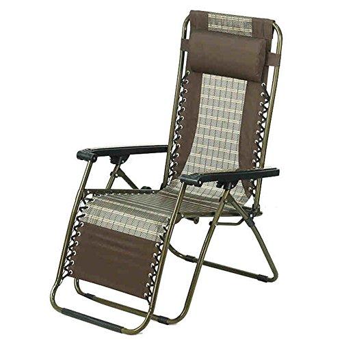 QIDI Chaise Longue Pliable Simple Bambou Haut-96cm