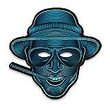 Mach Dich Bunt GmbH LED Maske - Klang Reaktiv, Masken Styles:Raoul Duke