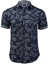 Tokyo Laundry 'Neeson' - Chemise Homme Manches courtes Motifs hawaïens