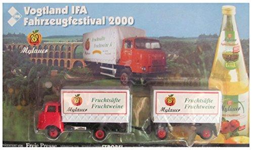 Vogtland IFA Fahrzeugfestival Nr.05 - Mylauer Fruchtsäfte & Fruchtweine - IFA W50 - Hängerzug Oldie