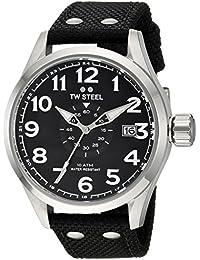 TW Steel Volante Armbanduhr VS1 Textilband schwarz UVP 189EUR