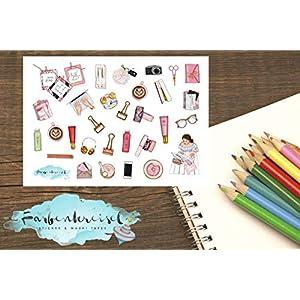 Planning/Working Sticker
