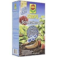 Compo Antilimacos gránulos de Gran eficacia para Combatir plagas de Todo Tipo de Caracoles y babosas en el Jardín, Pack Ahorro de 4x 225g