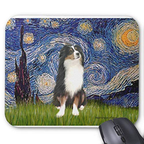 (tri2) - Starry Night Mouse Pad ()